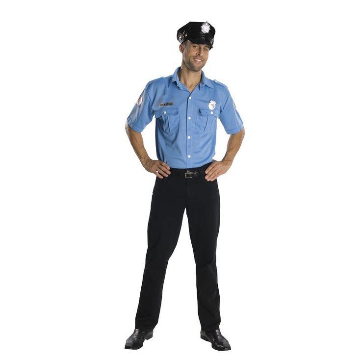 Disfraz Camisa de Policía Adulto Talla 40-44 - Drim