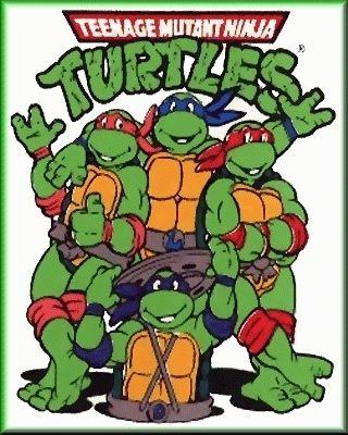 I was part of the TMNT obsession... lol, I had the parachute pants, the sweater, the socks, the movies, the books, the toys...