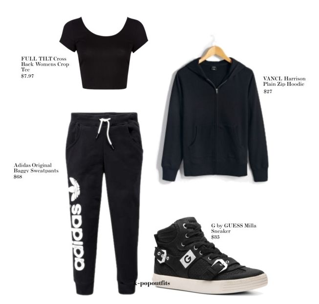 Jiyeon Never Ever Dance Practice Inspired Outfit [Requested by anon] ☆Follow for more Kpop outfits like this☆ Find It On Polyvore