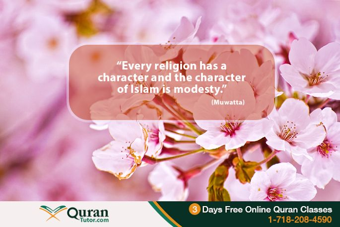 Modesty in Islam As Per Traditions Of Prophet Muhammad (PBUH)