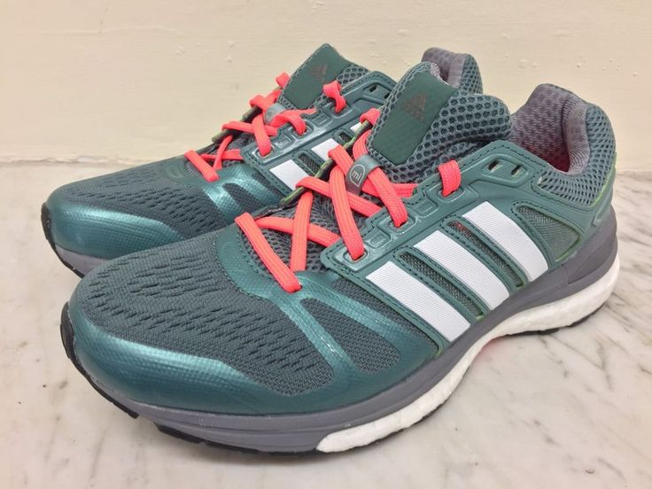 ADIDAS SUPERNOVA Sequence Boost 7 / BNWOB /SIZE UK 4 / green / FREE POSTAGE #adidas #GymTrainingShoes