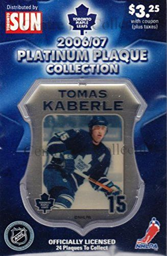 Maple Leafs Tomas Kaberle Plaque
