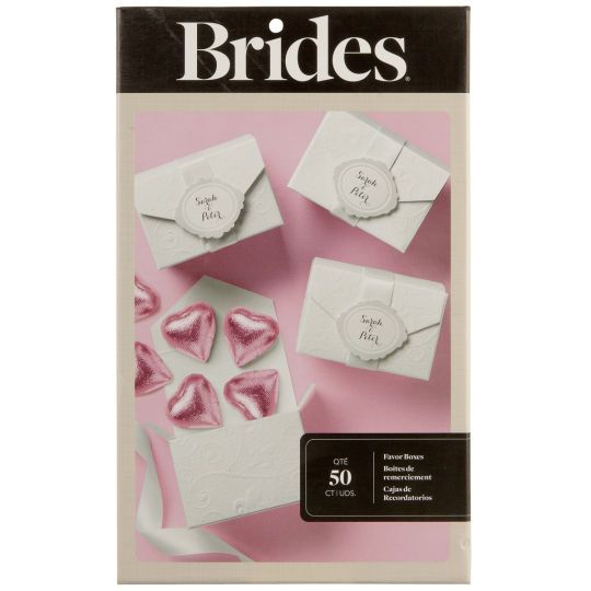 Do It Yourself Wedding Gift Box : at Michaels, these simple do-it-yourself embossed favor boxes ...