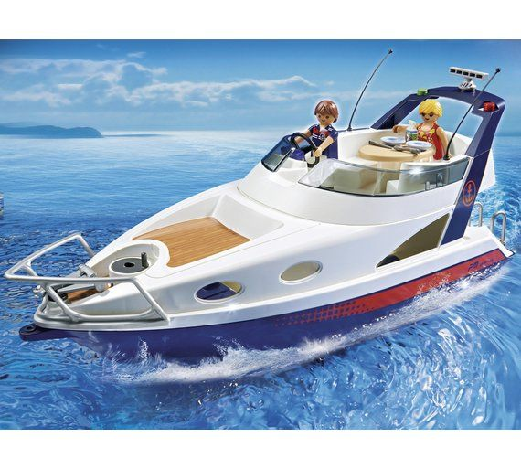 Buy Playmobil 5205 Luxury Yacht Playset at Argos.co.uk, visit Argos.co.uk to shop online for Action figures and playsets, Toys
