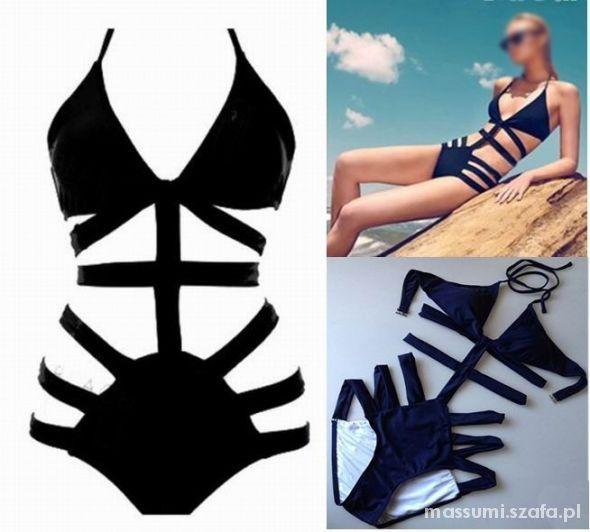 Seksowne monokini Siwiec paski XS S NOWY   Cena: 39,00 zł  #seksownebikini #monokini #strojkapielowy34 #eleganckistrojkapielowy