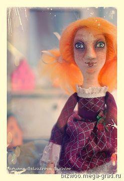 Кукла Катрина - текстильные и тканые изделия, авторская кукла. МегаГрад - портал авторской ручной работы