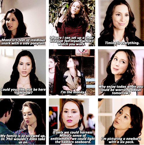 Spencer Hastings in Season 2 of pretty little liars