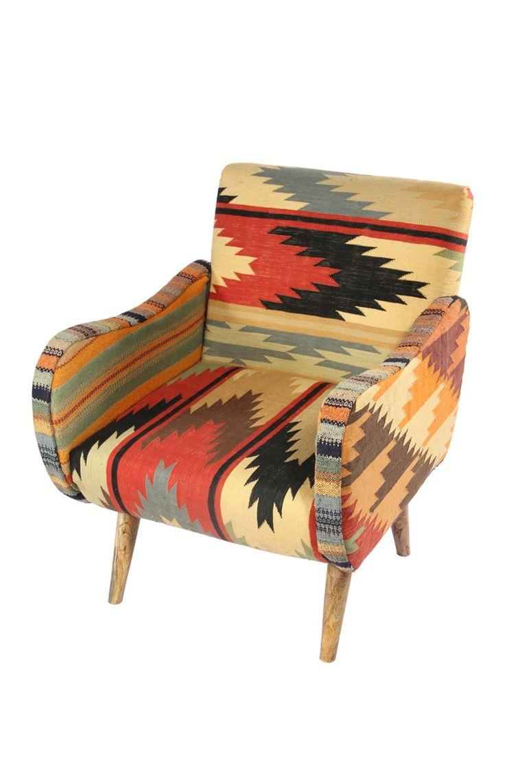 Kilim Lounge Chair