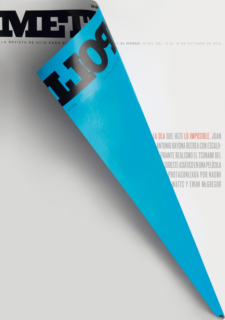 "♥ Metropoli Magazine ""Lo Imposible"" - Rodrigo Sánchez November 2012"