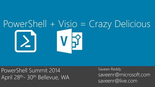 See what happens when Visio and PowerShell play together.  See this blog post for more information and link to the PPT deck and other files:   http://viziblr.com/news/2014/5/7/my-visio-presentation-from-the-powershell-summit-2014.html