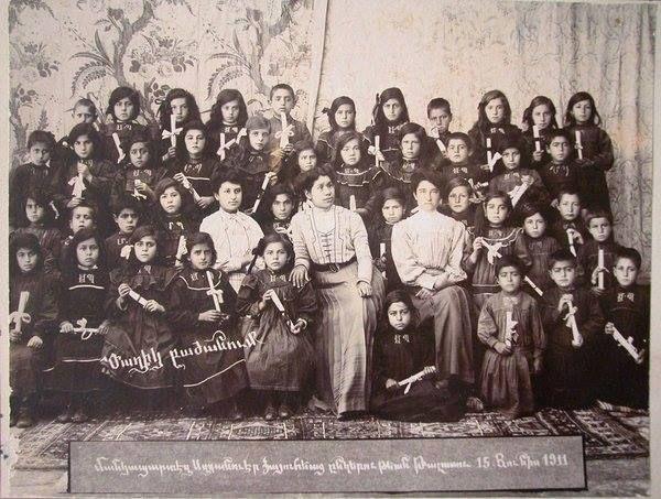Kayseri Talas Ermeni Anaokulu 15 Haziran 1911