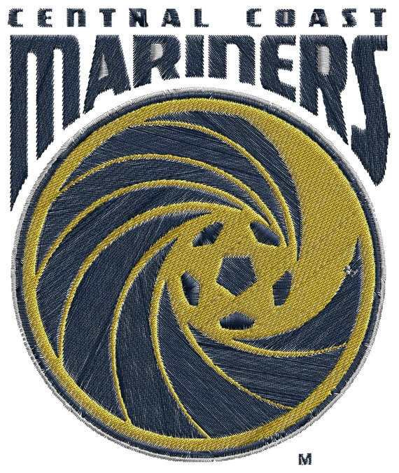Central Coast Mariners FC  machine embroidery by BiaForceDesigns, $3.85