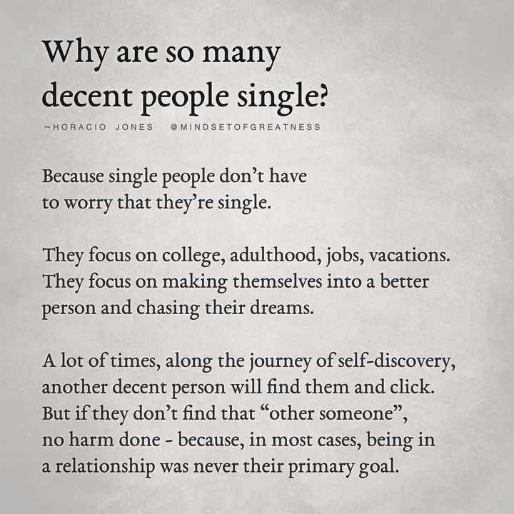 Why Are Some People Single?