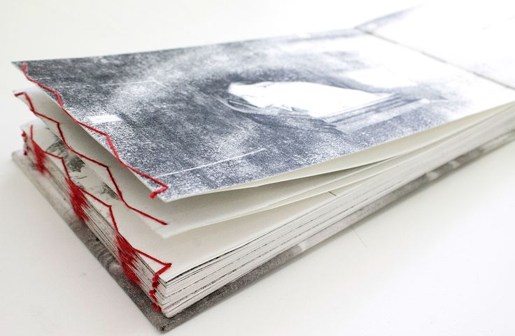 Artists Book, hand-bound book of  illustrations based on the poem 'The morning after I killed myself' by Meggie Royer. By Pencilheartart #books #bookart #red #handbound #bookbinding