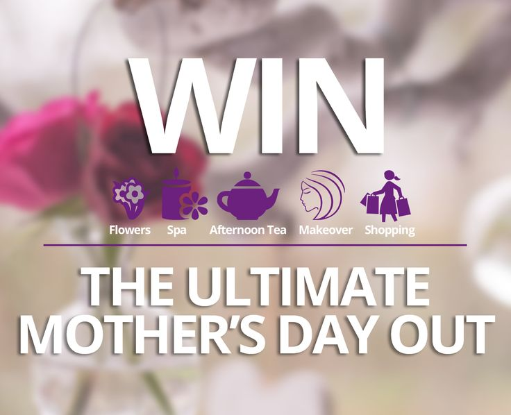 WIN The Ultimate Mother's Day Out! 😍  Bouquet of Flowers, Spa Treat for 2, Afternoon Tea on the Vintage Tea Tour Bus for 2, Beauty Lounge pampering and a shopping spree at Brown Thomas.