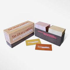 The Storymatic Classic - Six trillion stories in one little box. Which one will you tell? I love this idea for a game! And they have a kids version, too! Very, very cool!