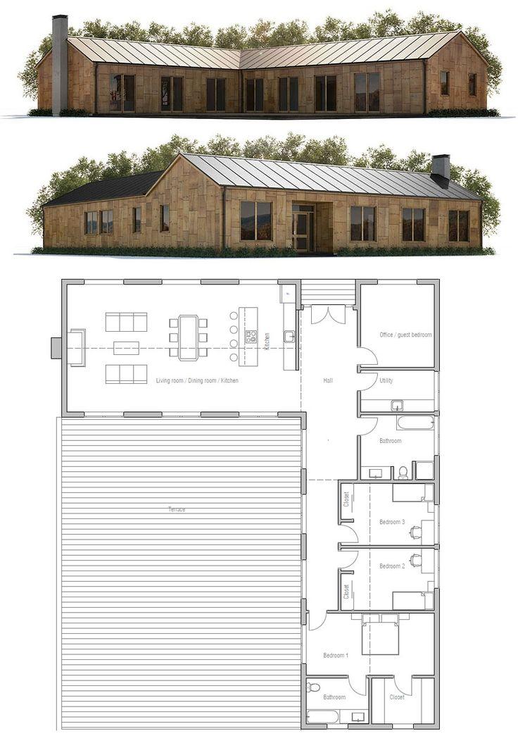 Casa pequena ver 2 arquitectura pinterest casas for Ver planos de casas pequenas