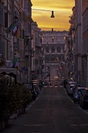 A Historic Dead End to il Coliseo, #Rome, #Italy