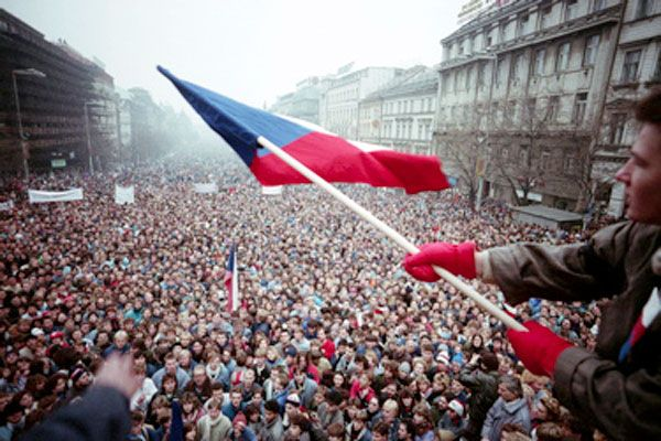Velvet Revolution / Sametova revoluce 1989, Czechoslovakia