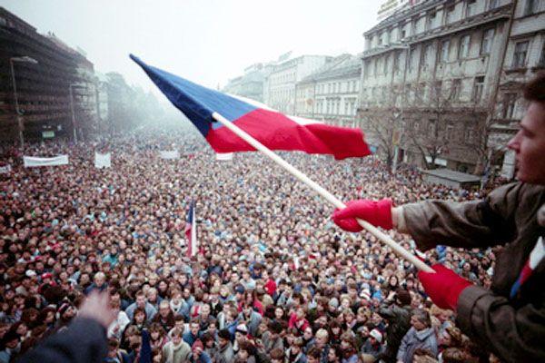 Velvet Revolution 1989, Czechoslovakia