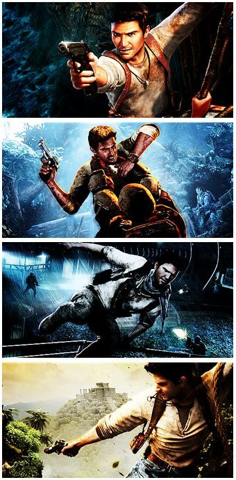 Uncharted series. At this point, Naughty Dog can take all my money.