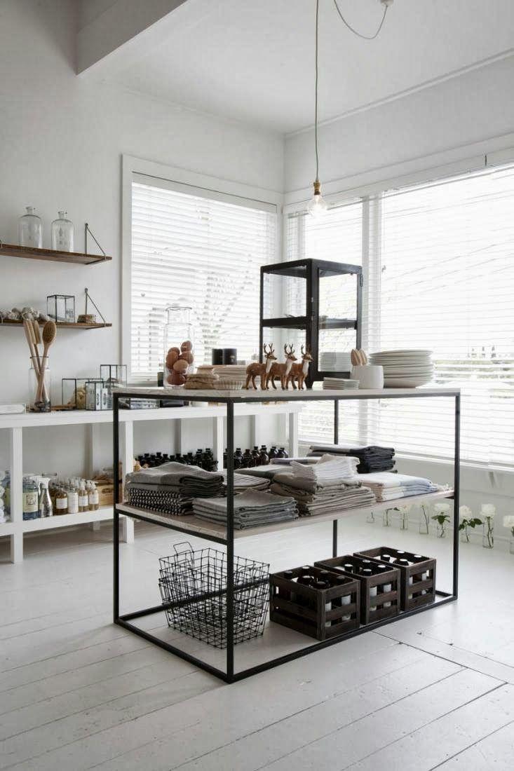 Retail Design | Shop Design | Homeware Store | my scandinavian home: The beautiful home / showroom of Father Rabbit