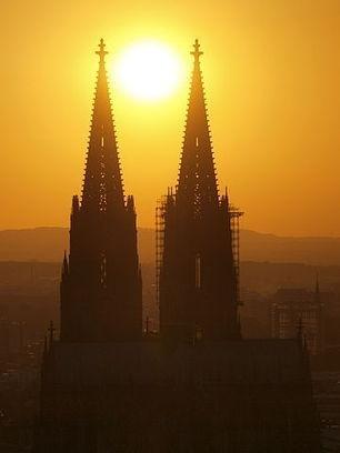 Cathédrale de Cologne - patrimoine mondial en Allemagne
