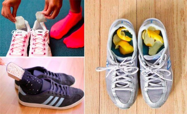14 solutions malignes pour mettre fin aux chaussures malodorantes