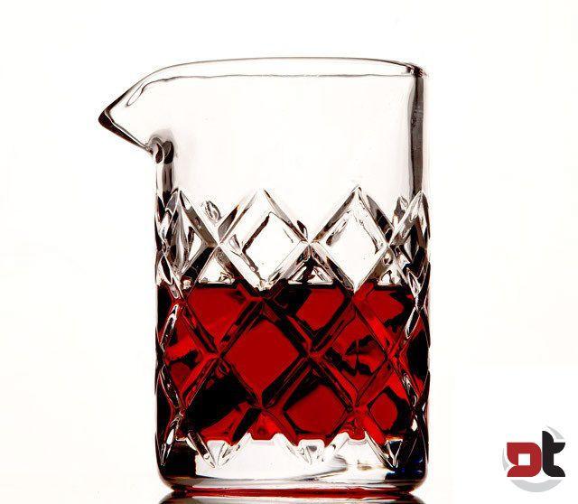 YARAI MIXING GLASS 500 ML bicchiere vetro beccuccio cocktail barman giapponese
