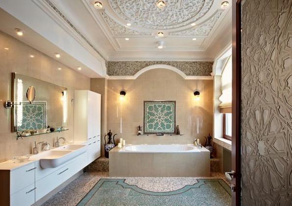 traditional moroccan bathroom