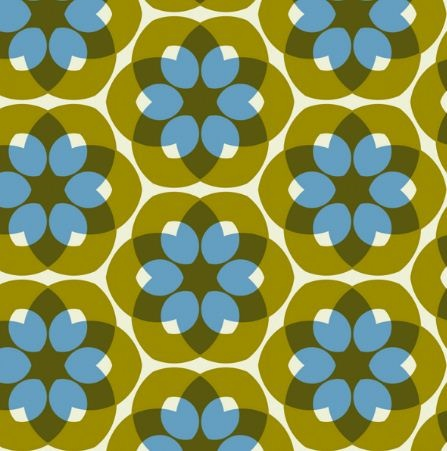simple shapes layered on each other makes one nifty pattern - by @Stoflab