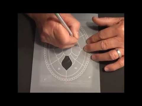 ▶ Parchment Craft - PCA NEW Cut Out method! - YouTube