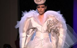 Veja as principais tendências dos vestidos de noiva das passarelas de alta costura.