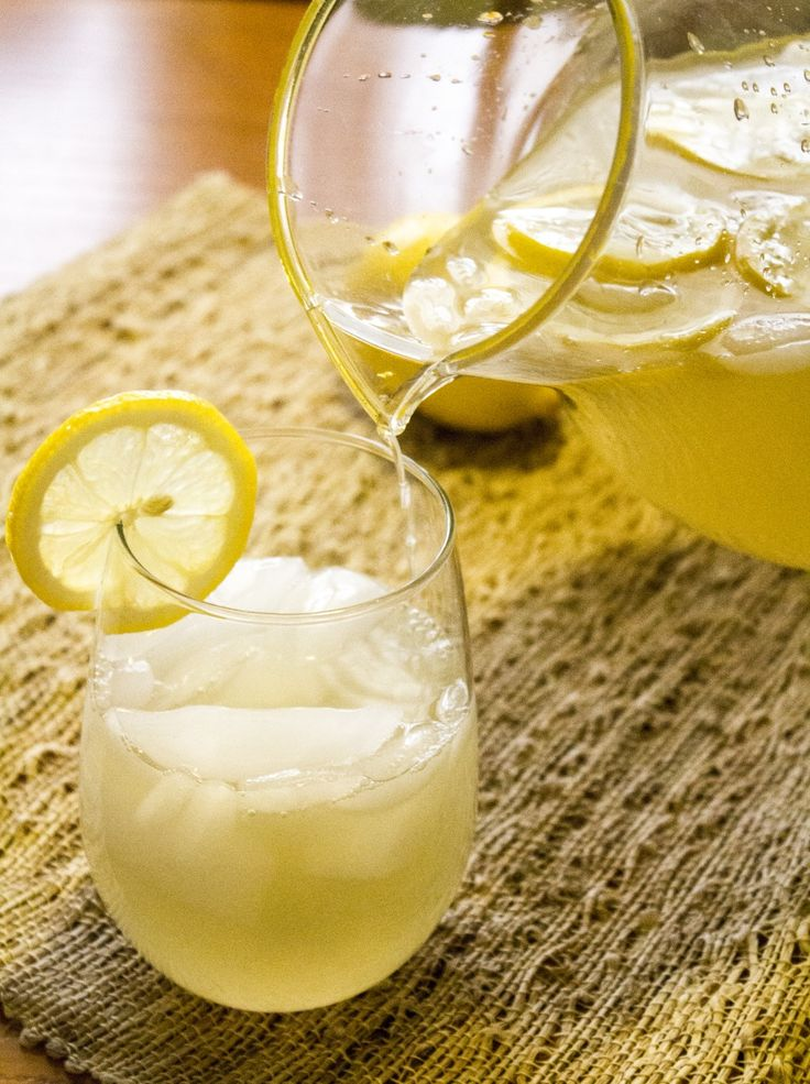 Homemade Lemonade Recipe | Mmm... real food: Beverages | Pinterest