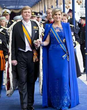 King Willem~Alexander and Queen Maxima
