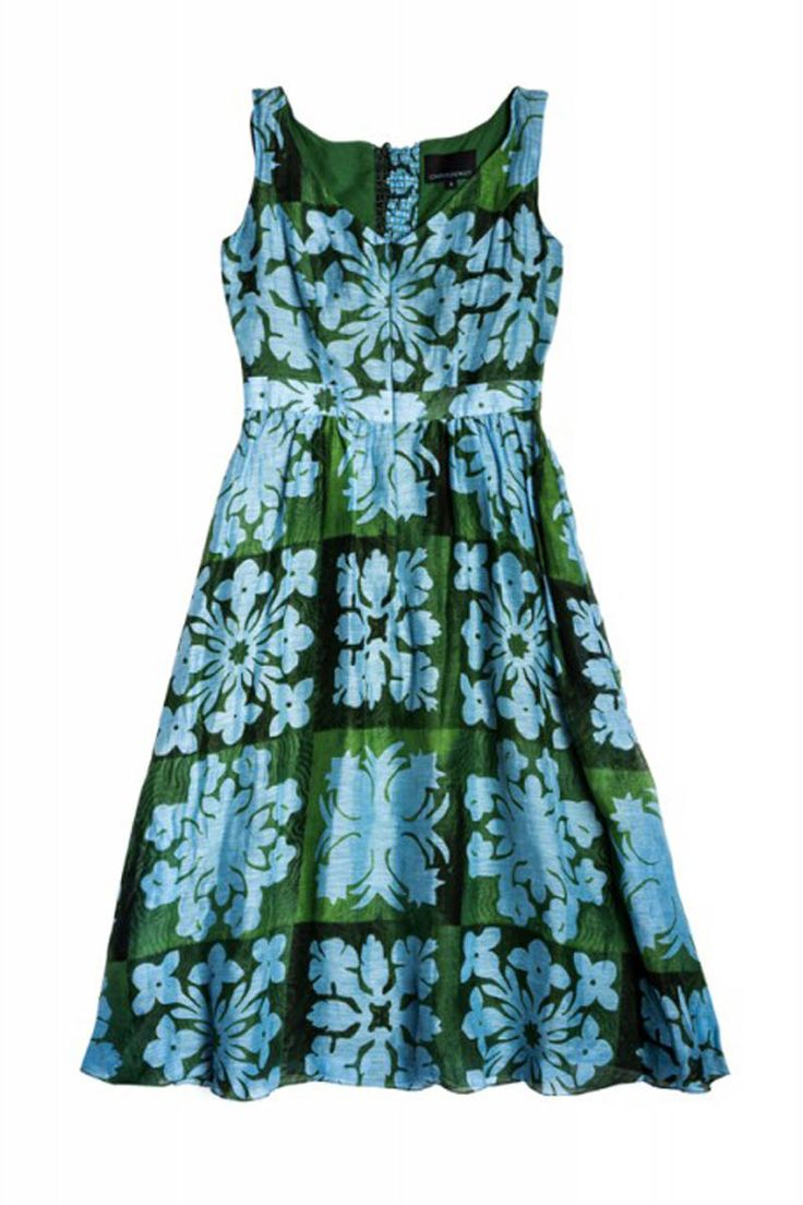 When you're feeling land-locked this summer, wear this on trend Hawaiin dress! Aloha!