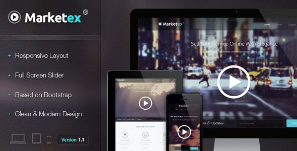 Marketex - The Multipurpose Responsive Showcase - ThemeForest Item for Sale