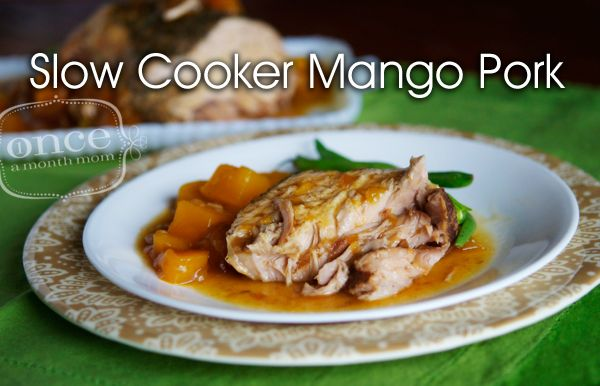 Slow Cooker Mango Pork