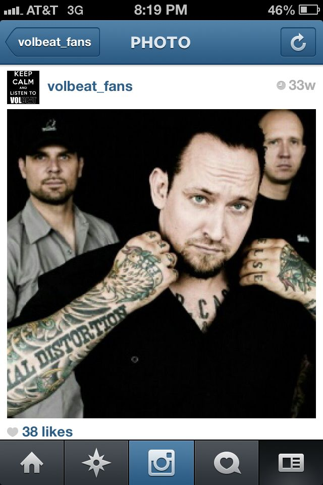 38 best VOLBEAT!!!!!!! images on Pinterest | Volbeat lyrics ...