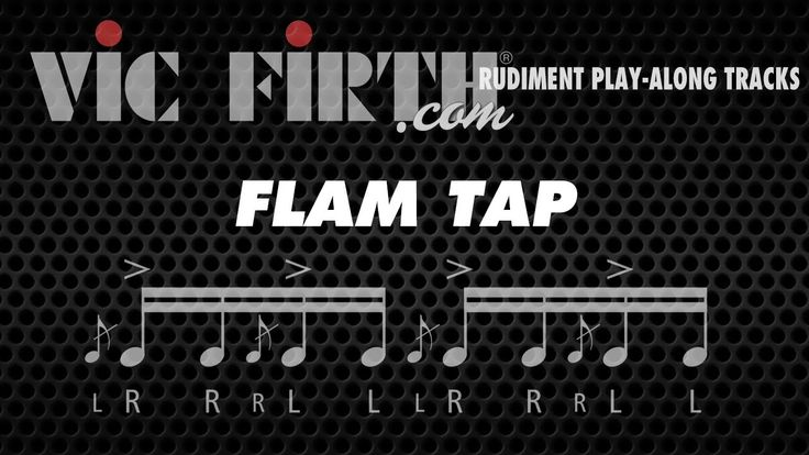 Flam Tap: Vic Firth Rudiment Playalong