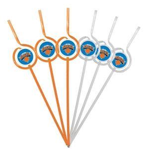 ~New York Knicks Team Sipper Straws~backorder
