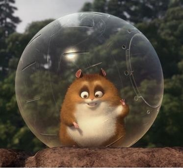 Rhino the hamster in the animated film Bolt voice if