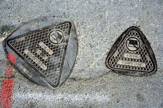 Reuleaux's triangular manhole covers. S.F. USA
