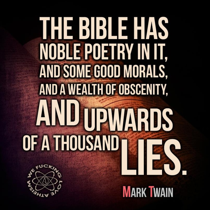 Morality in the works of mark twain