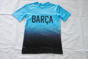 FC Barcelona Jersey 2016/17 Season Blue Soccer Training Shirt [E305]