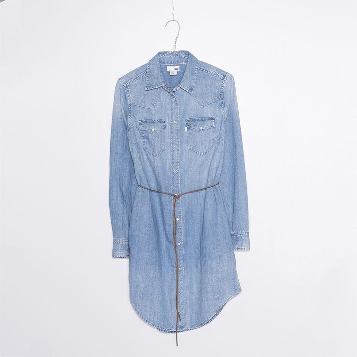 #jeansshop #jeansshopcom #levis #newcollection #falwinter2014 #fw14 #dress #denim