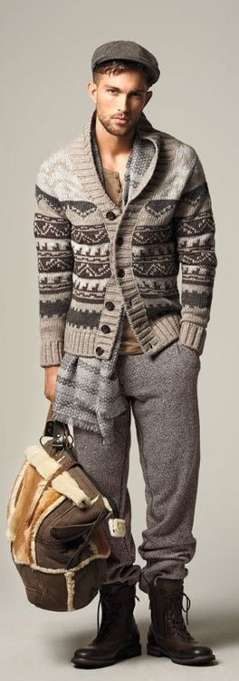 not into the pants-tucked-into-boots thing, but i'm pretending this is all cashmere, so the comfort factor outweighs pure aesthetics.