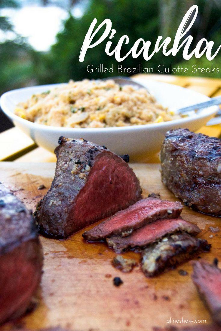 Picanha brazilian culotte steaks recipe food recipes
