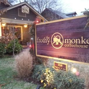 The Frothy Monkey, Nashville, Tennessee. Taylor Swift likes to get coffee here! #OneOfAKindNashville