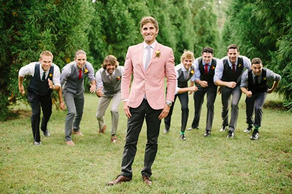 groomsmen | photo by Jen Fariello | 100 Layer Cake
